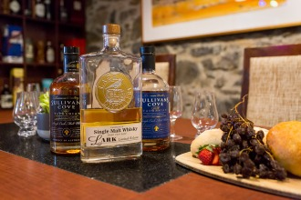 Lark and Sullivans Cove Whisky.
